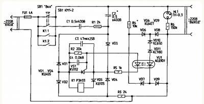 Схемы 4 электронных сигнализатора поклевки и 3