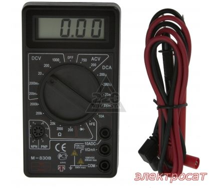 Цифровой мультиметр М-830В